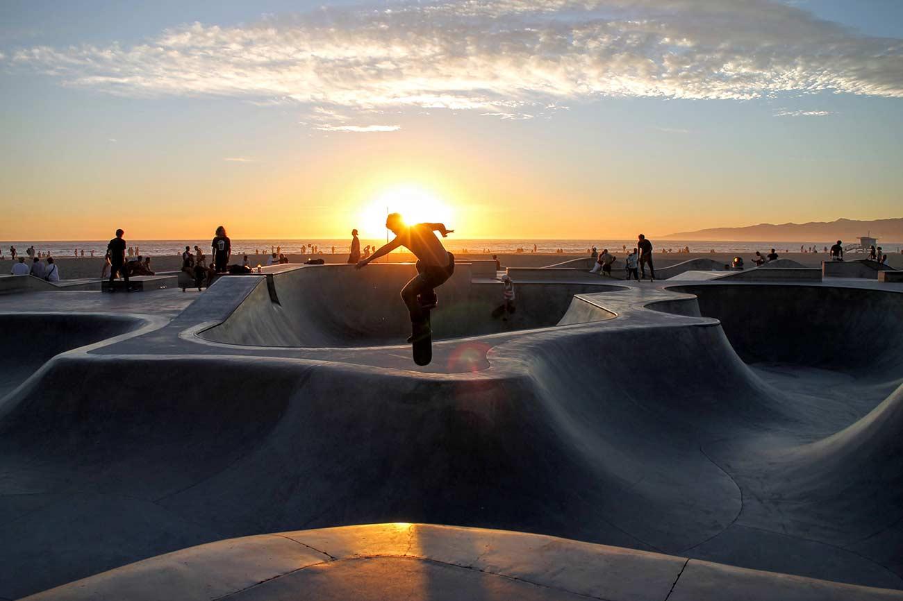 Skateboard park